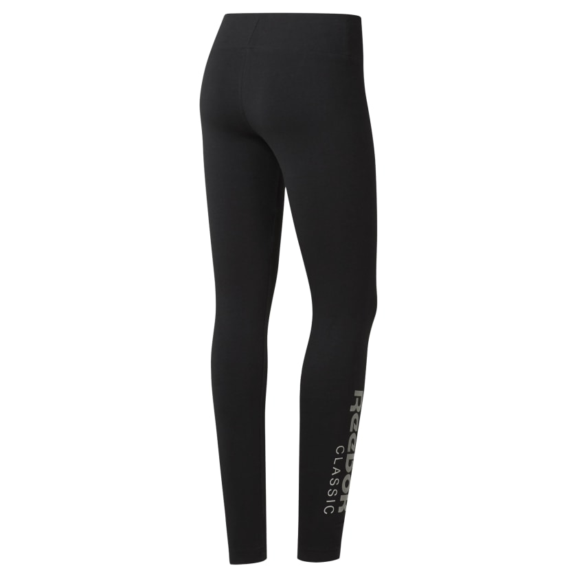 Reebok-Women-039-s-Classics-Graphic-Leggings thumbnail 13