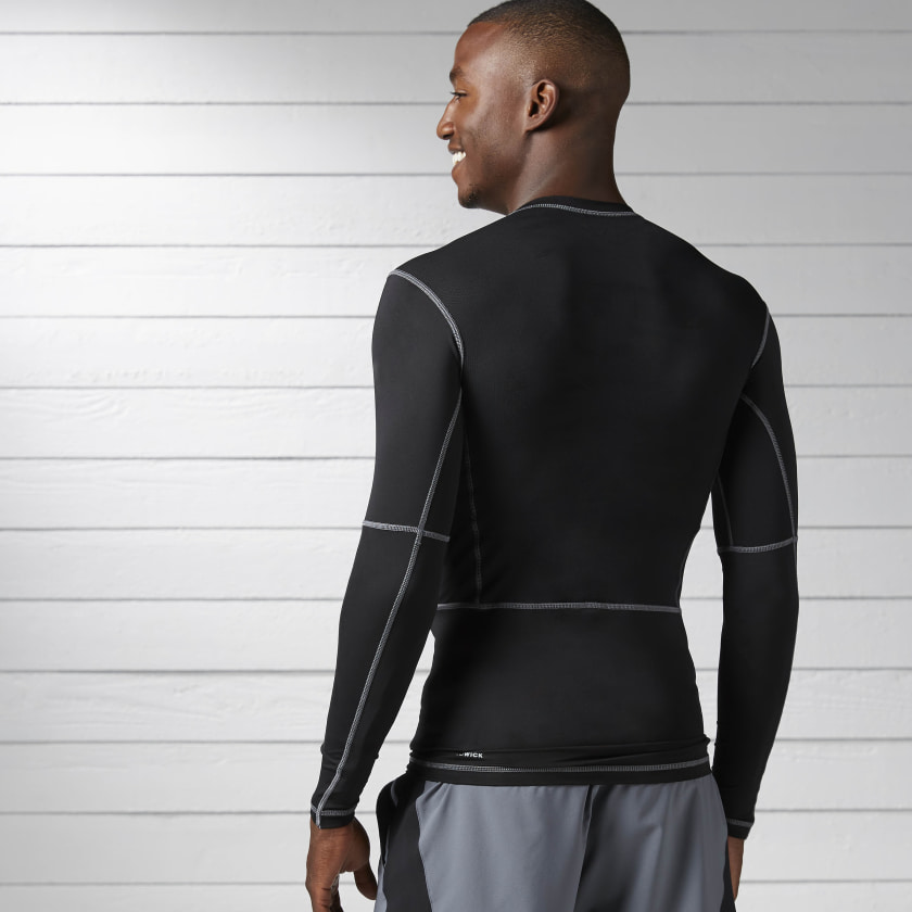 Workout Ready Compression Long-Sleeve Shirt