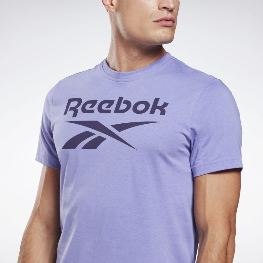 thumbnail 103 - Reebok Men's Graphic Series Stacked Tee