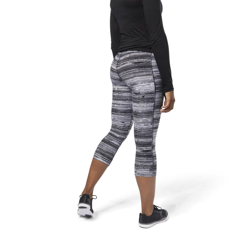 Lux 3/4 Tights - Stratified Stripes