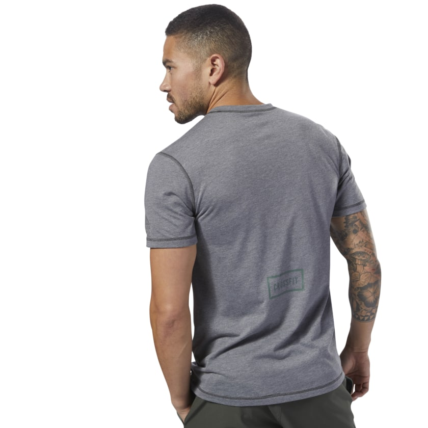 T-shirt Reebok CrossFit Burnout SS- Uni