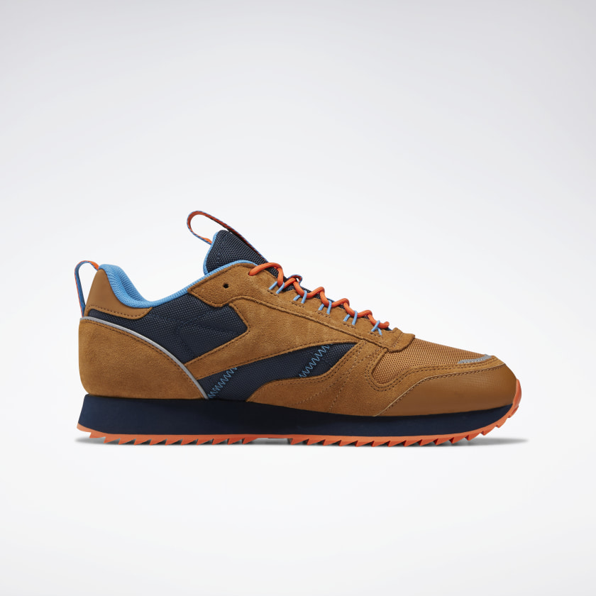Reebok-Men-039-s-Classic-Leather-Ripple-Trail-Shoes-Shoes thumbnail 19