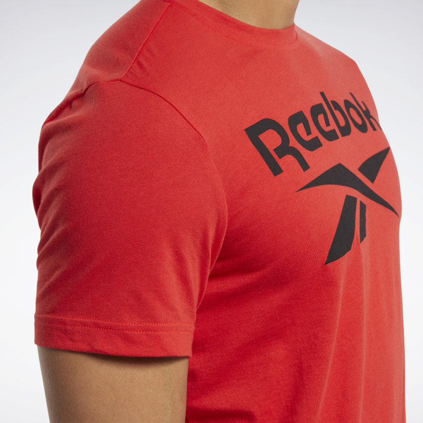 thumbnail 22 - Reebok Men's Graphic Series Stacked Tee