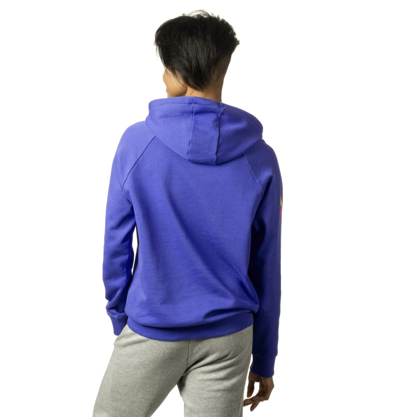 Bold Cropped Hoodie
