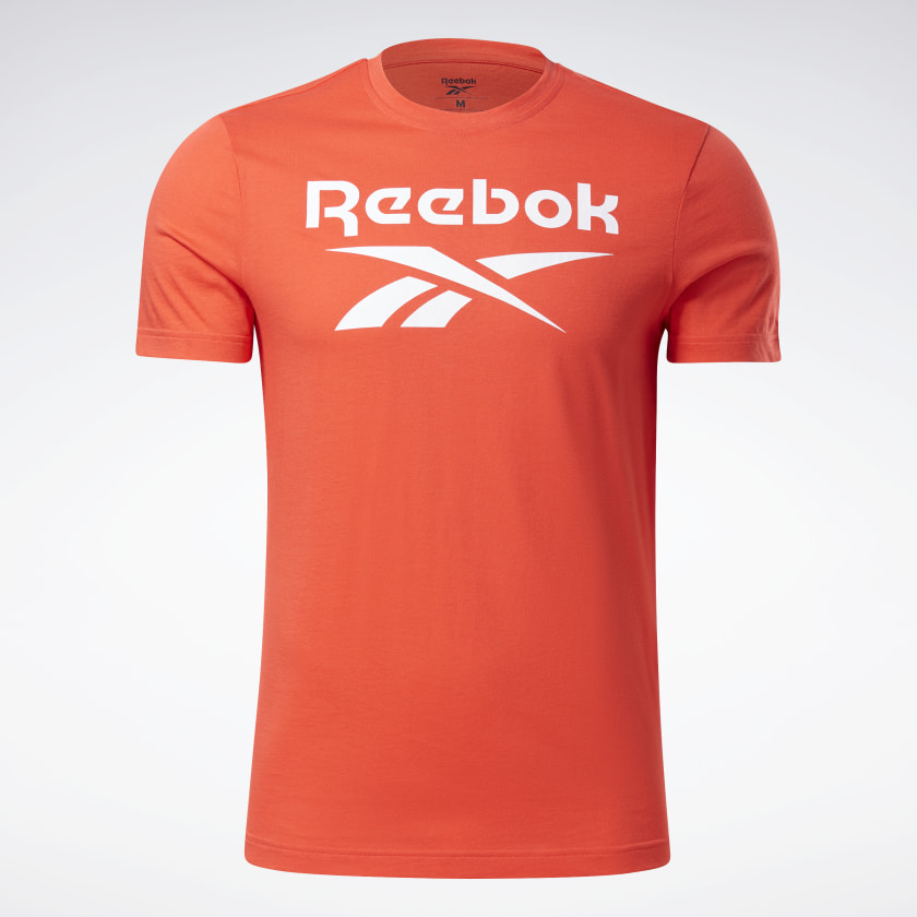 thumbnail 93 - Reebok Men's Graphic Series Stacked Tee