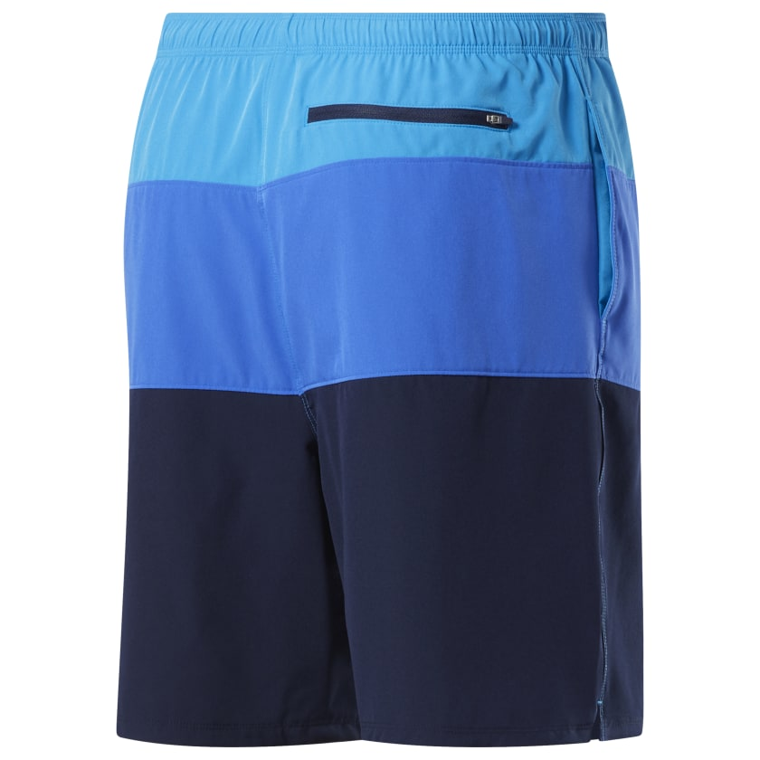Reebok-Men-039-s-Colorblock-Tab-Volley-Shorts thumbnail 20