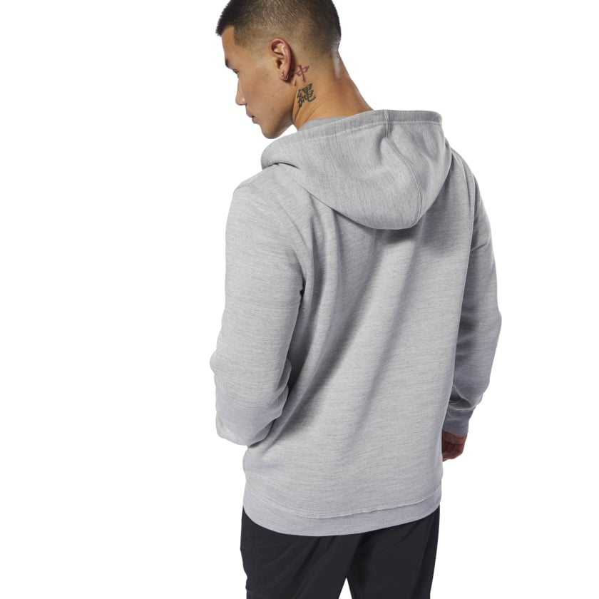 Training Essentials Marble Hoodie
