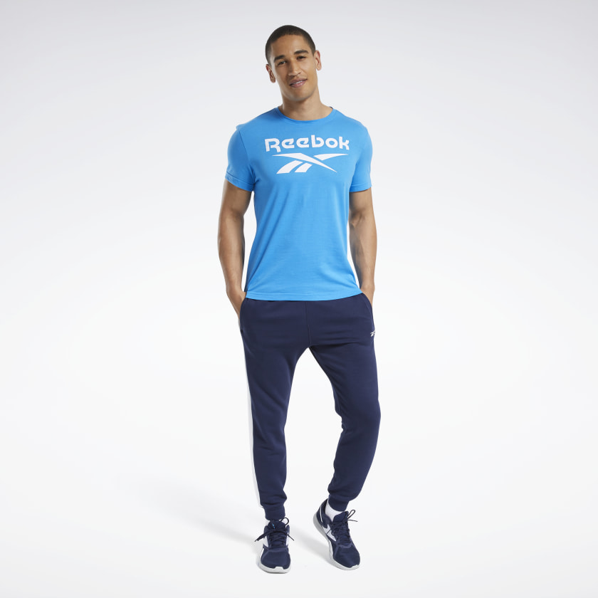 thumbnail 66 - Reebok Men's Graphic Series Stacked Tee