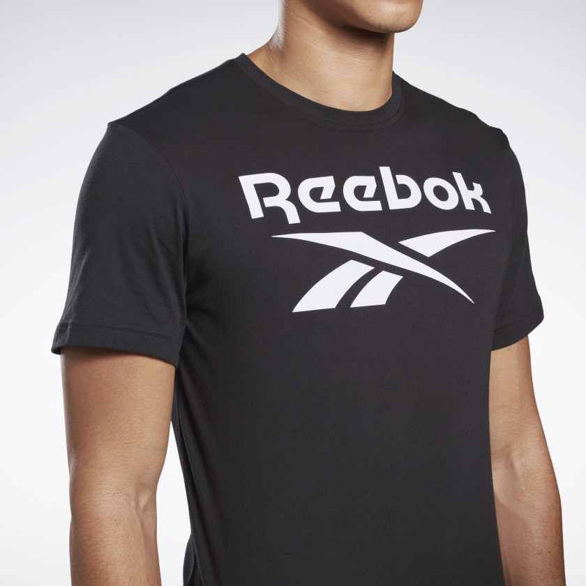 Reebok-Men-039-s-Graphic-Series-Stacked-Tee thumbnail 50