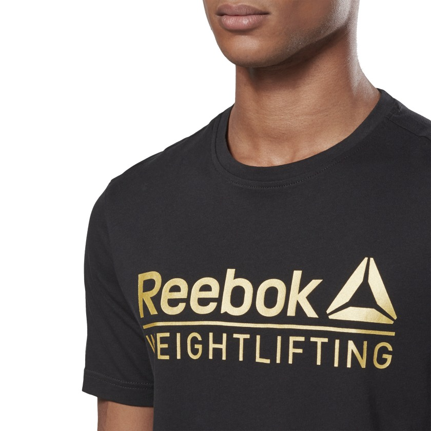 Reebok-Men-039-s-Weightlifting-Tee thumbnail 17