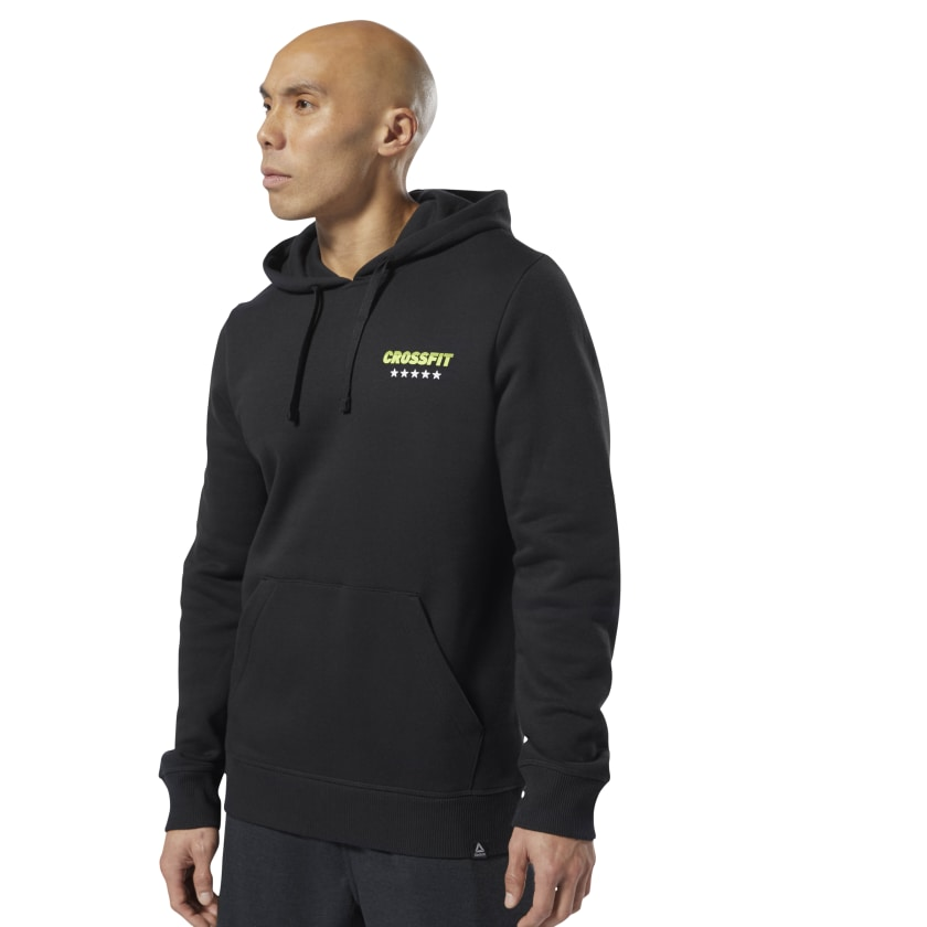 Reebok-Men-039-s-CrossFit-World-Class-Hoodie thumbnail 11