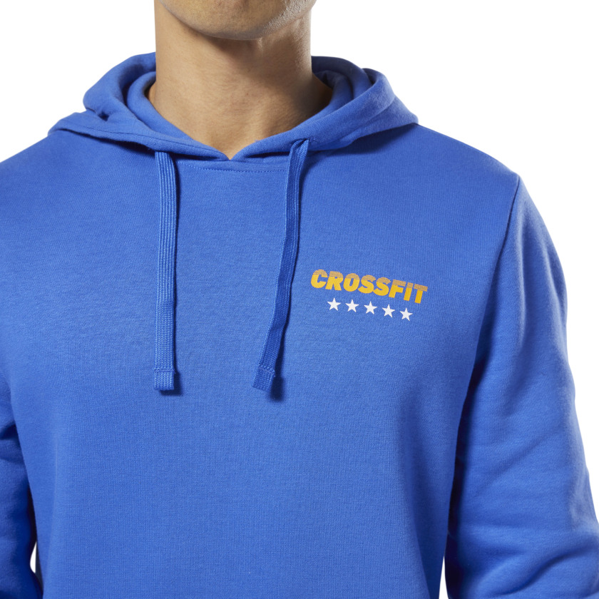 Reebok-Men-039-s-CrossFit-World-Class-Hoodie thumbnail 18