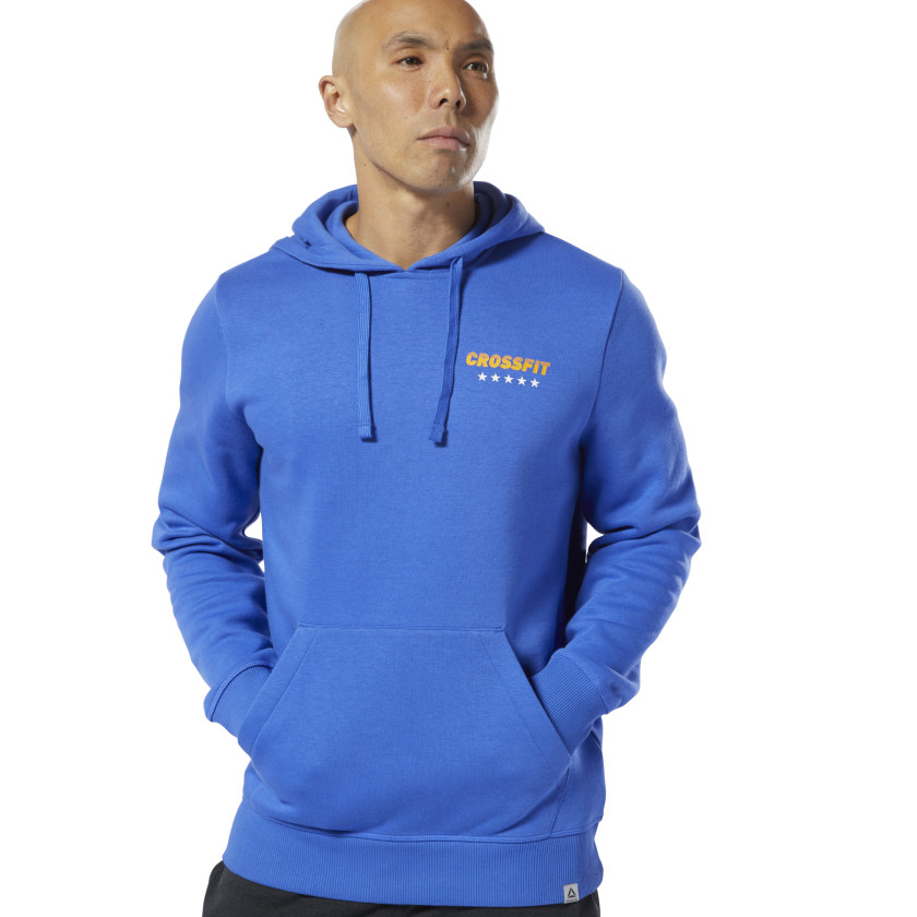 Reebok-Men-039-s-CrossFit-World-Class-Hoodie thumbnail 19