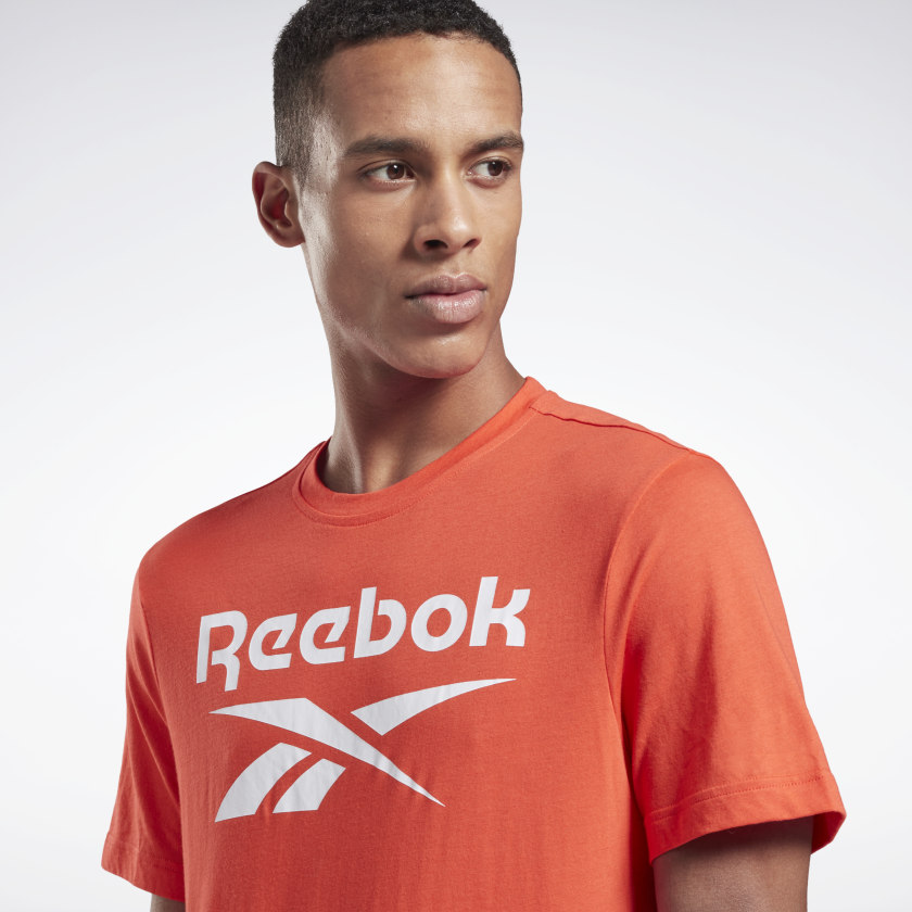 thumbnail 91 - Reebok Men's Graphic Series Stacked Tee