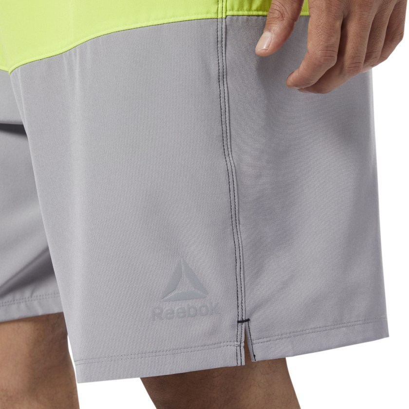 Reebok-Men-039-s-Colorblock-Tab-Volley-Shorts thumbnail 13