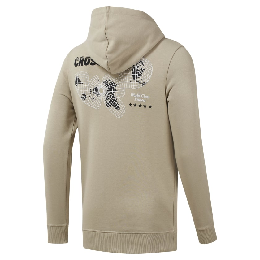 Reebok-Men-039-s-CrossFit-World-Class-Hoodie thumbnail 29
