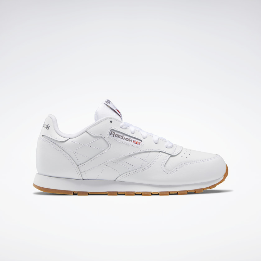Reebok-Kids-039-Classic-Leather-Shoes-Grade-School thumbnail 38