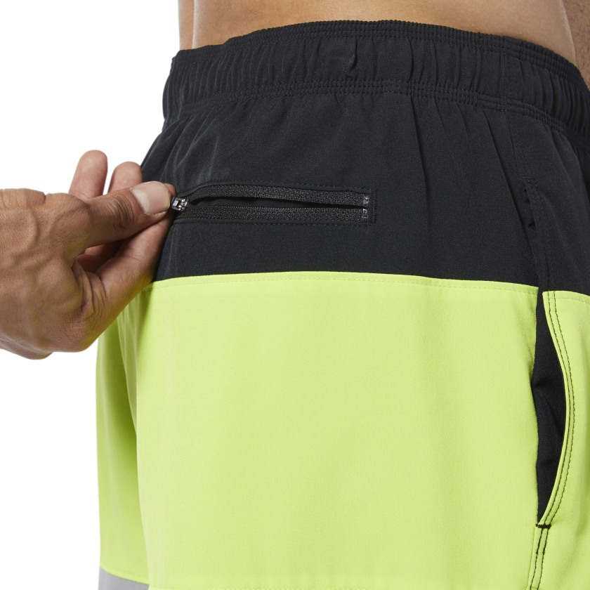 Reebok-Men-039-s-Colorblock-Tab-Volley-Shorts thumbnail 14