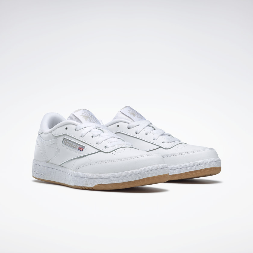 Reebok-Kids-039-Club-C-Shoes-Grade-School thumbnail 25