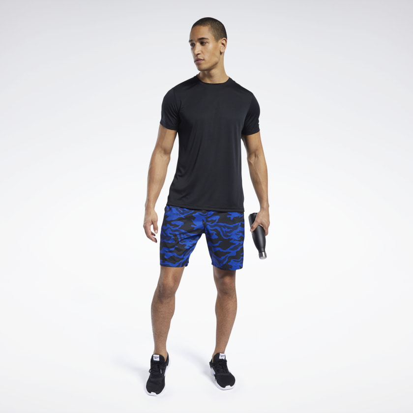Reebok-Men-039-s-Workout-Ready-Graphic-Shorts thumbnail 20