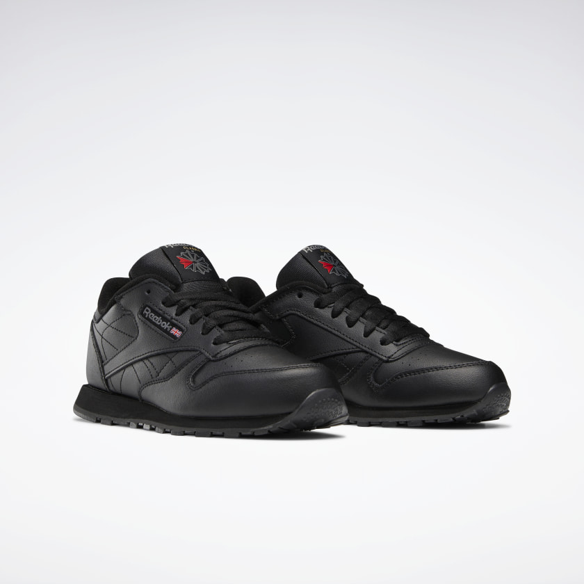 Reebok-Kids-039-Classic-Leather-Shoes-Grade-School thumbnail 13