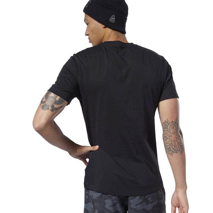 Reebok-Men-039-s-CrossFit-Fittest-On-Earth-Tee thumbnail 20