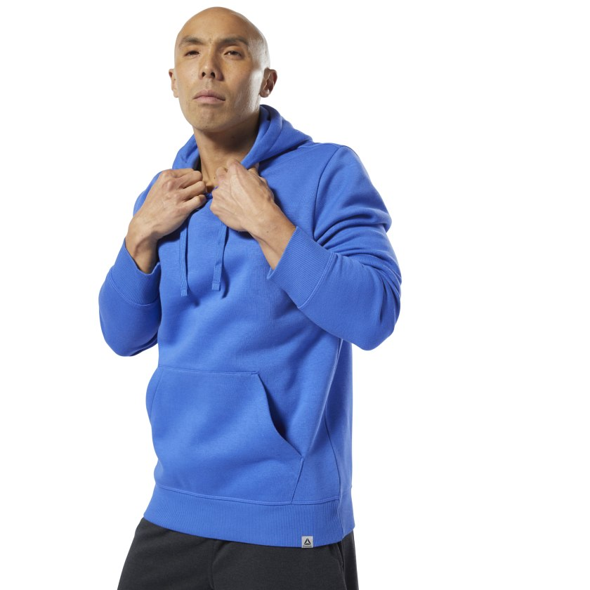 Reebok-Men-039-s-CrossFit-World-Class-Hoodie thumbnail 21