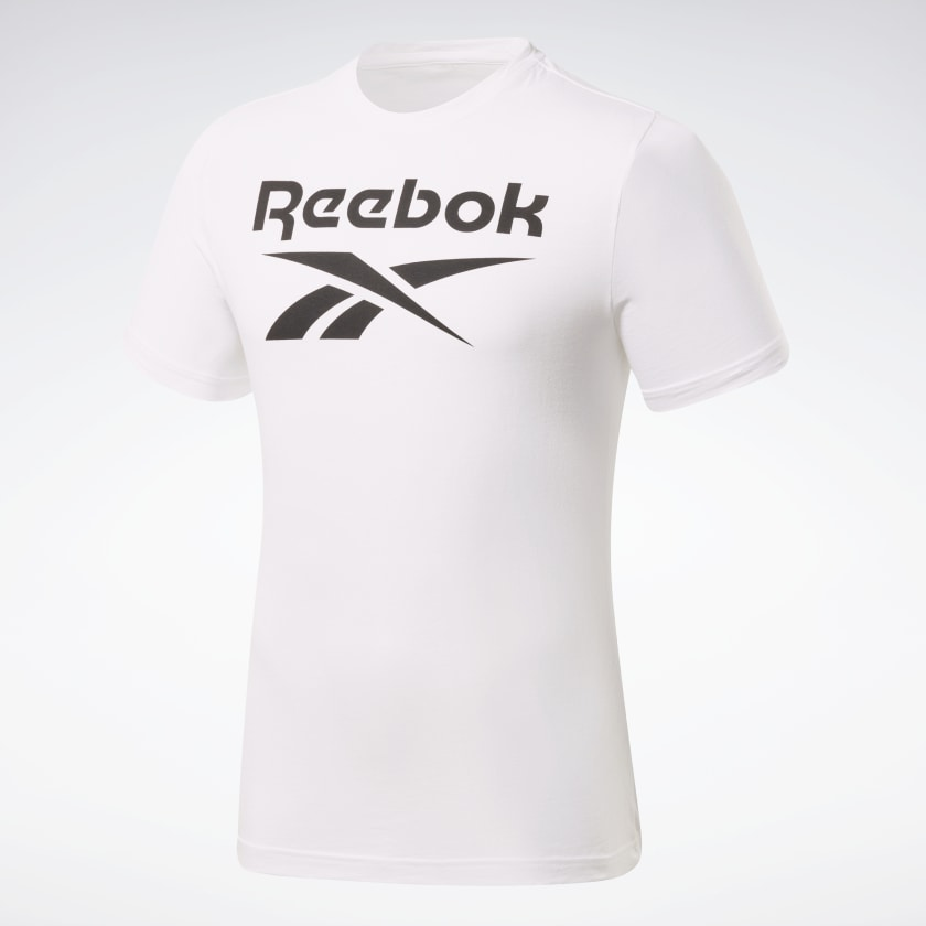 Reebok-Men-039-s-Graphic-Series-Stacked-Tee thumbnail 66