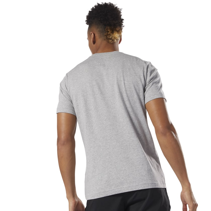 GRAPHIC TEE SHORT SLEEVE QQR- Reebok Stacked