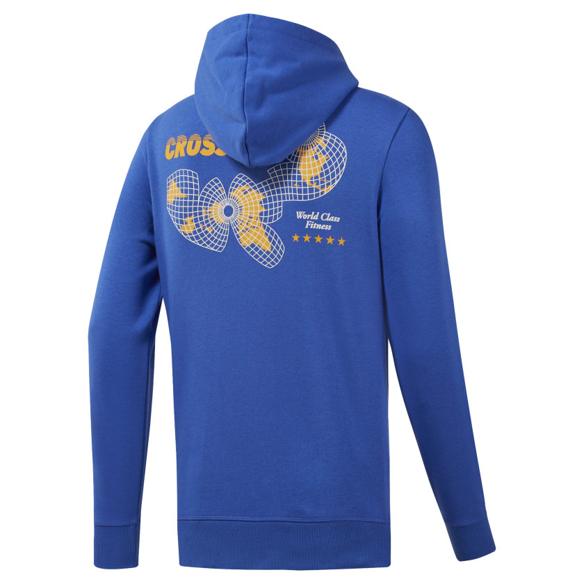 Reebok-Men-039-s-CrossFit-World-Class-Hoodie thumbnail 22