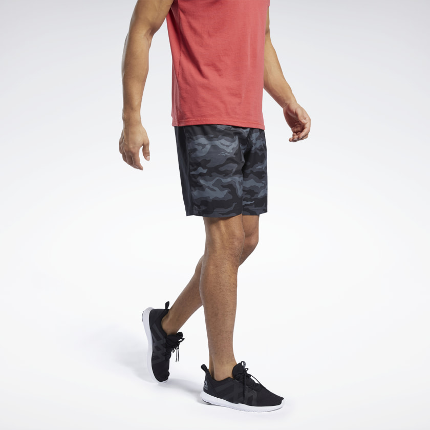 Reebok-Men-039-s-Workout-Ready-Graphic-Shorts thumbnail 13