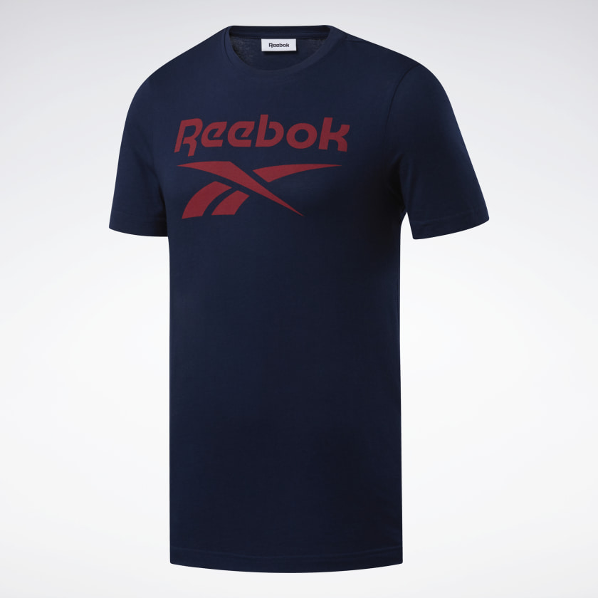 Reebok-Men-039-s-Graphic-Series-Stacked-Tee thumbnail 57