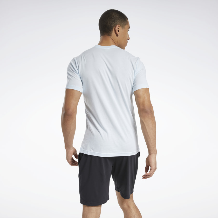 Reebok-Men-039-s-Graphic-Series-Stacked-Tee thumbnail 33