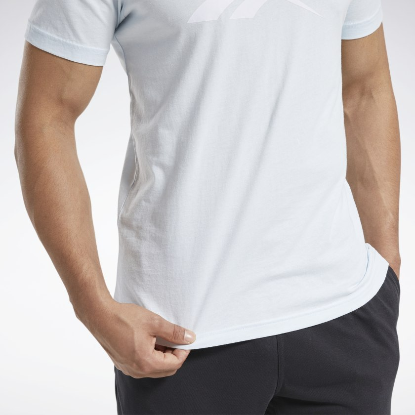 Reebok-Men-039-s-Graphic-Series-Stacked-Tee thumbnail 34