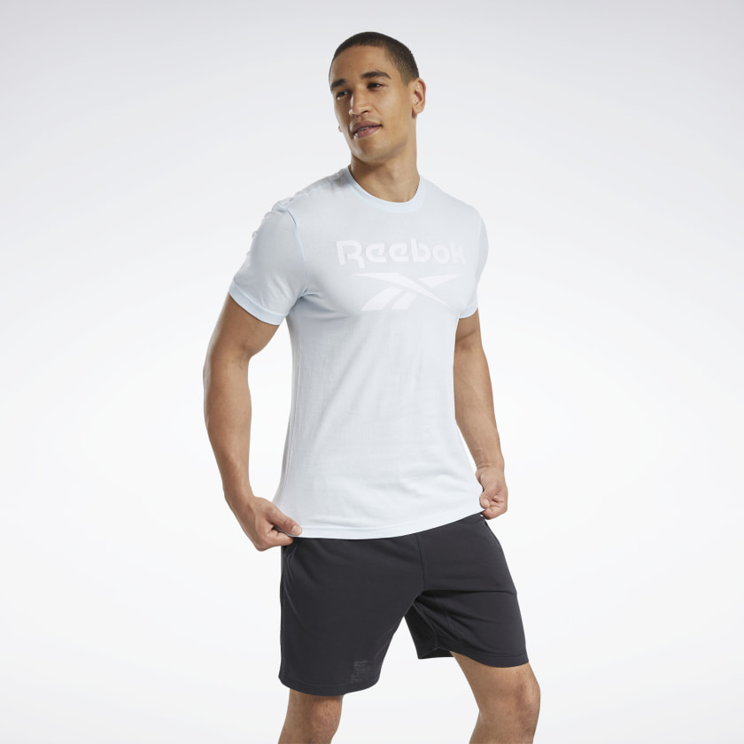 Reebok-Men-039-s-Graphic-Series-Stacked-Tee thumbnail 35