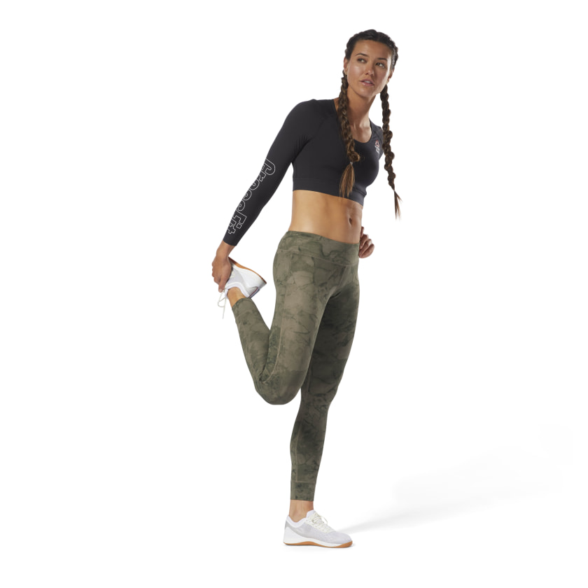 Reebok CrossFit Lux Tights - Stone