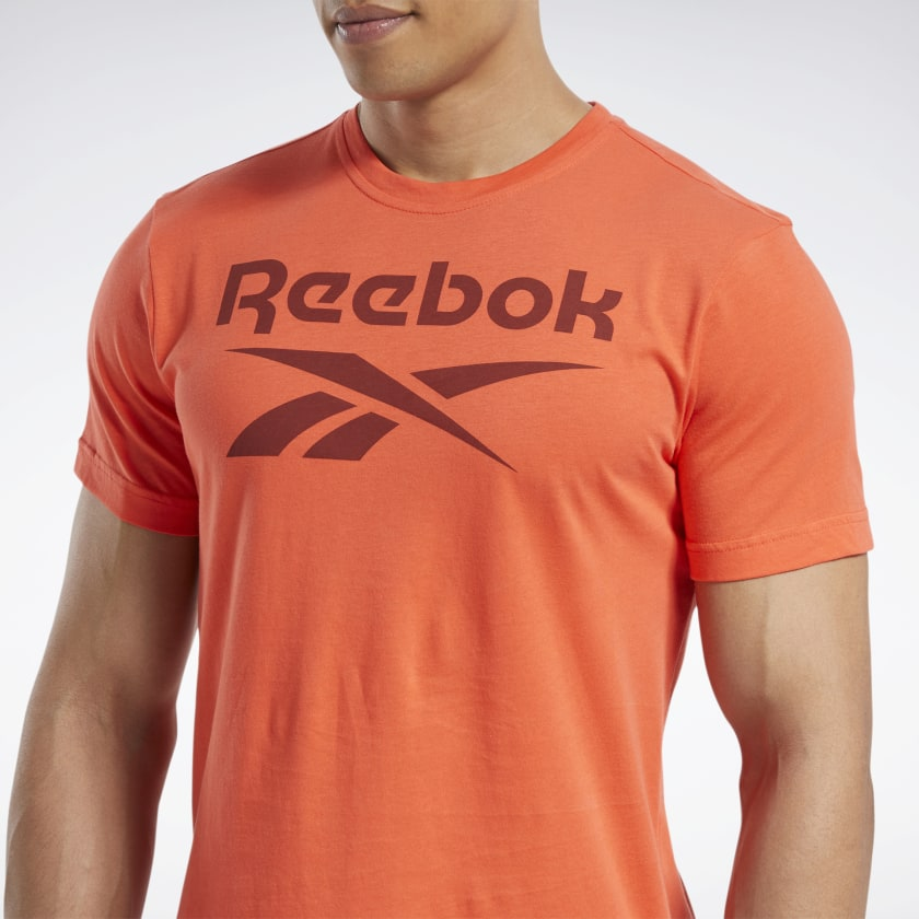 Reebok-Men-039-s-Graphic-Series-Stacked-Tee thumbnail 13
