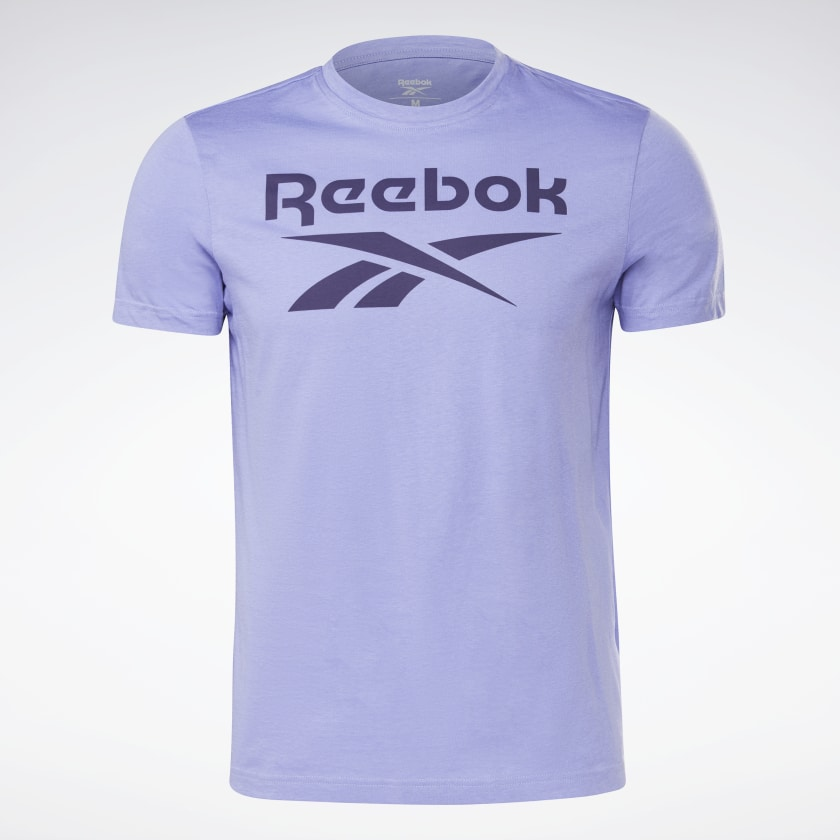 thumbnail 105 - Reebok Men's Graphic Series Stacked Tee