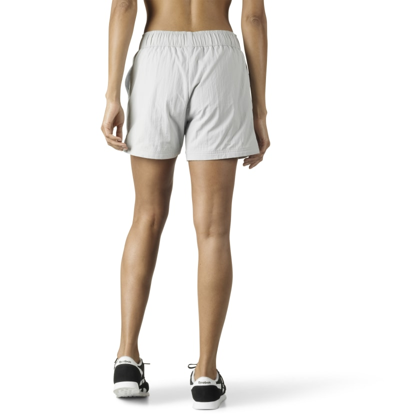 Woven Athleisure Shorts