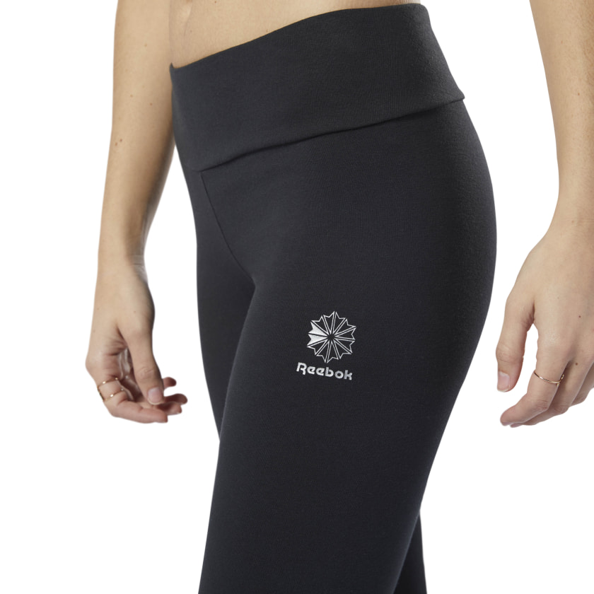 Reebok-Women-039-s-Classics-Graphic-Leggings thumbnail 16