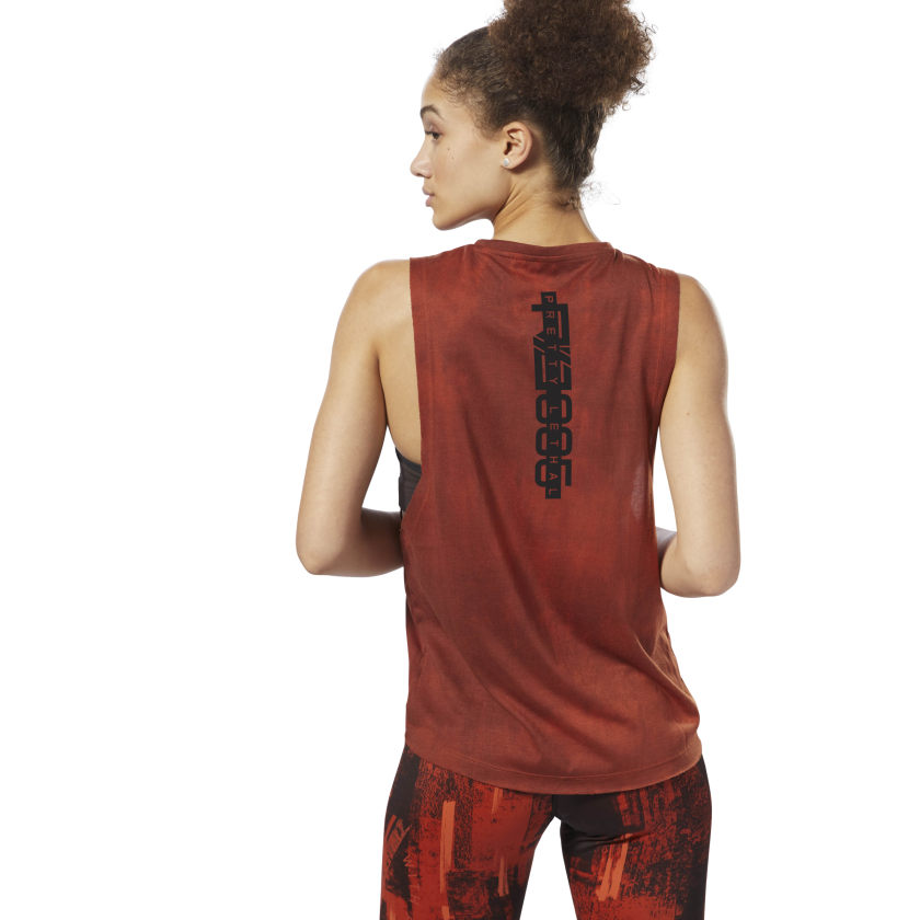 Combat Spray Dye Muscle Tanktop