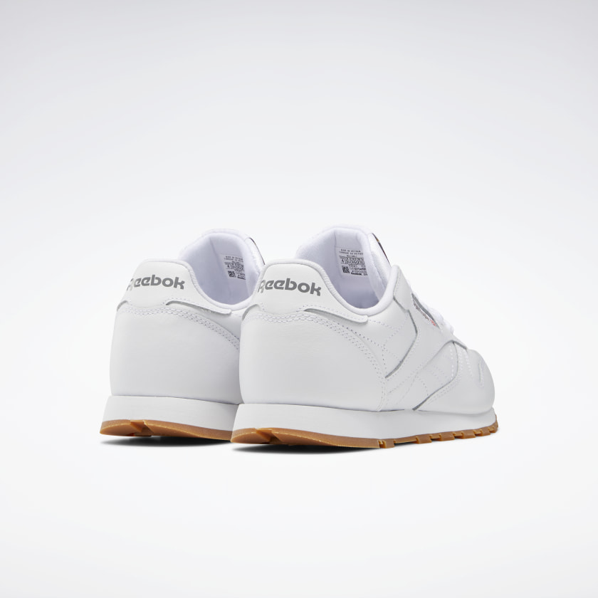 Reebok-Kids-039-Classic-Leather-Shoes-Grade-School thumbnail 41