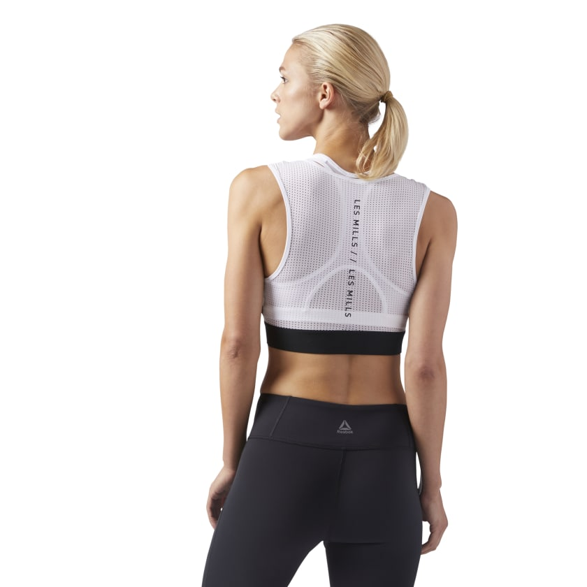 LES MILLS CROPPED TANK