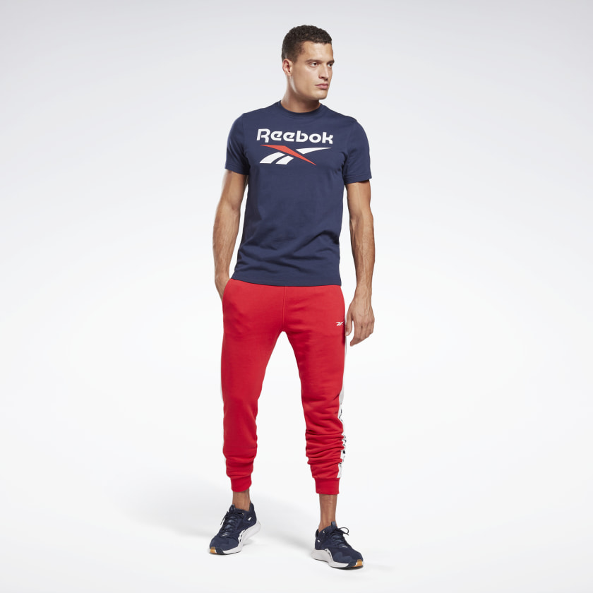 thumbnail 82 - Reebok Men's Graphic Series Stacked Tee