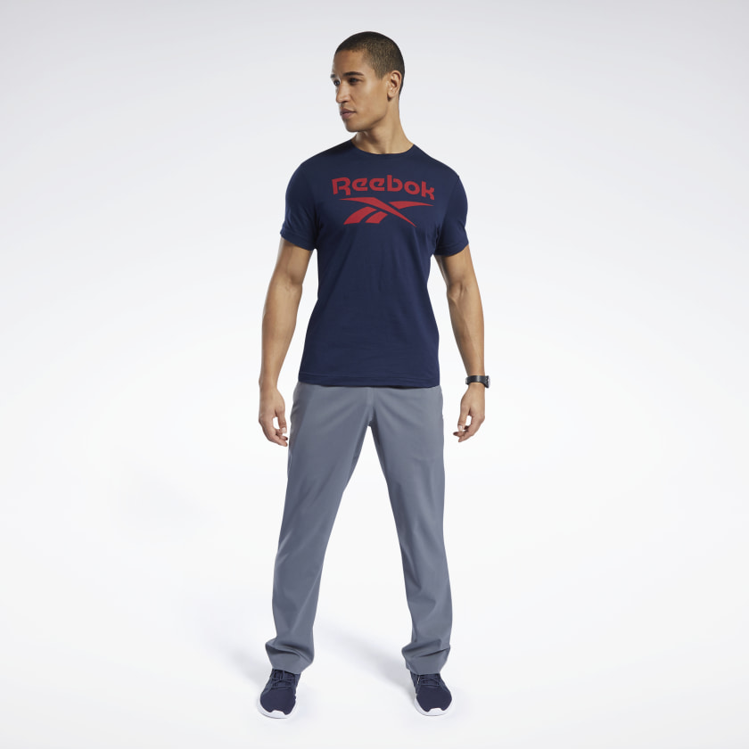 Reebok-Men-039-s-Graphic-Series-Stacked-Tee thumbnail 61