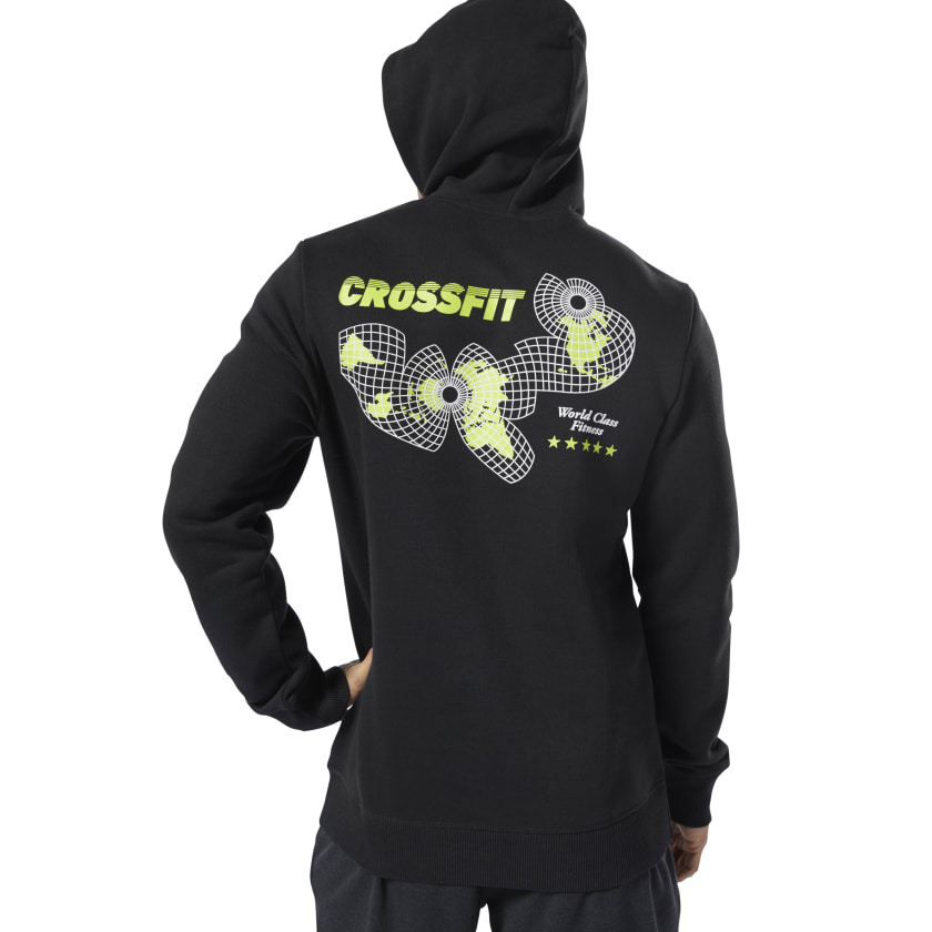 Reebok-Men-039-s-CrossFit-World-Class-Hoodie thumbnail 13