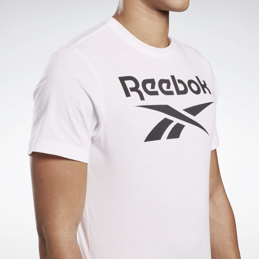 Reebok-Men-039-s-Graphic-Series-Stacked-Tee thumbnail 71