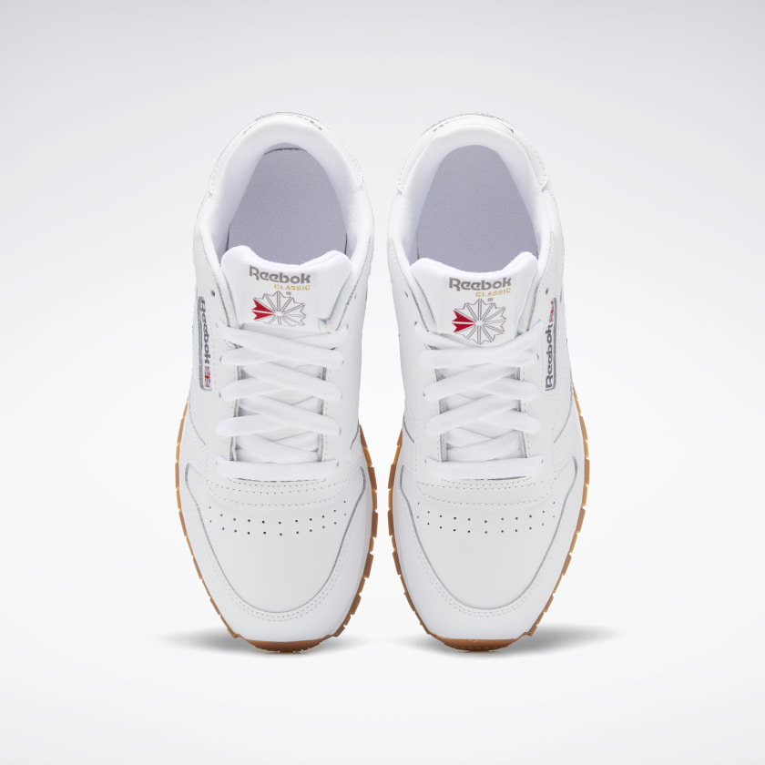 Reebok-Kids-039-Classic-Leather-Shoes-Grade-School thumbnail 43