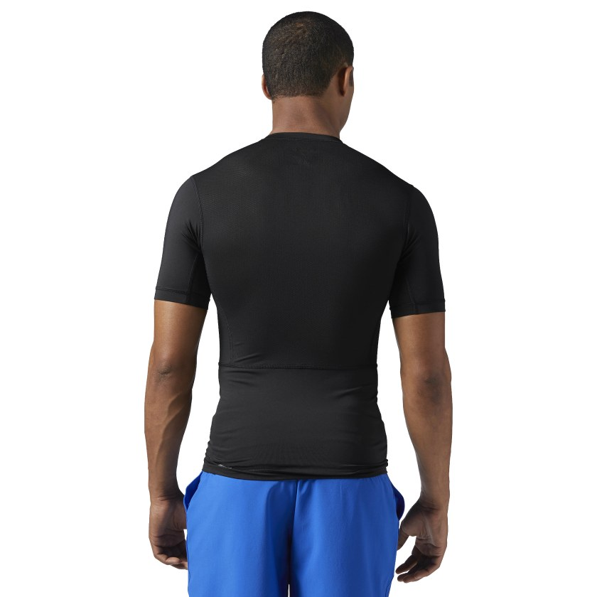 T-shirt Workout Ready Compression a maniche corte
