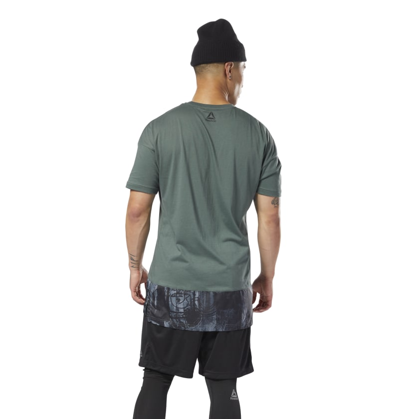 Training Essentials Knit-Woven Tee